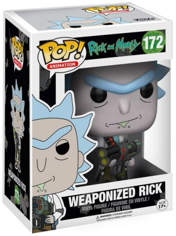 Figurine Funko Pop Rick et Morty #172 Rick armé