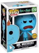 Figurine Funko Pop Rick et Morty #174 Mr. Meeseeks - Avec pistolet [Chase]