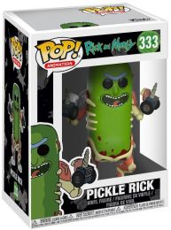 Figurine Funko Pop Rick et Morty #333 Rick Cornichon
