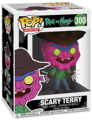 Figurine Funko Pop Rick et Morty #300 Scary Terry