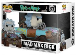 Figurine Funko Pop Rick et Morty #37 Mad Max Rick