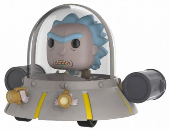 Figurine Funko Pop Rick et Morty #34 Rick dans son vaisson