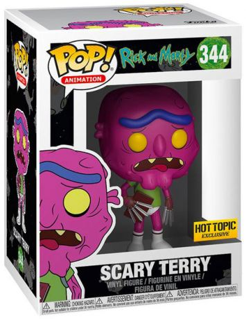 Figurine Funko Pop Rick et Morty #344 Scary Terry sans pantalon