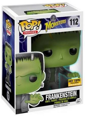 Figurine Funko Pop Universal Monsters #112 Frankenstein - Brille dans le noir