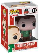 Figurine Funko Pop The Big Bang Theory #11 Sheldon Cooper - Tshirt Green Lantern
