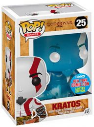 Figurine Funko Pop God of War #25 Kratos - Rage de Poséidon