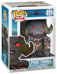 Figurine Funko Pop God of War #271 Troll de feu