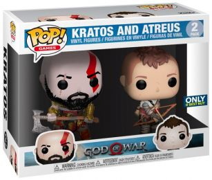 Figurine Funko Pop God of War #0 Kratos et Atreus - 2 Pack