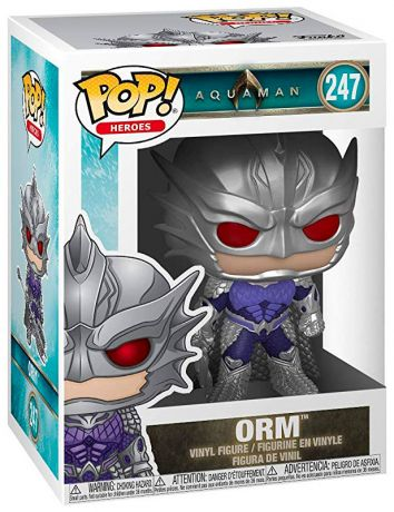 Figurine Funko Pop Aquaman [DC] #247 Orm