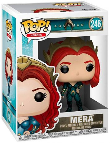 Figurine Funko Pop Aquaman [DC] #246 Mera