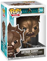 Figurine Funko Pop Aquaman [DC] #244 Arthur Curry en gladiateur
