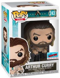 Figurine Funko Pop Aquaman [DC] #243 Arthur Curry torse nu