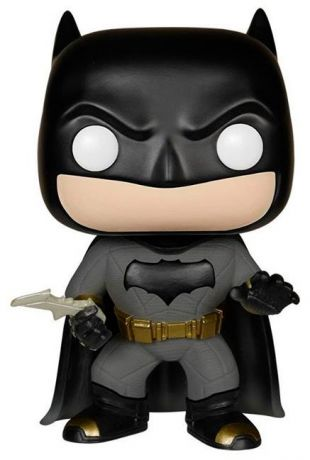 Figurine Funko Pop Batman v Superman : L'Aube de la justice [DC] #84 Batman