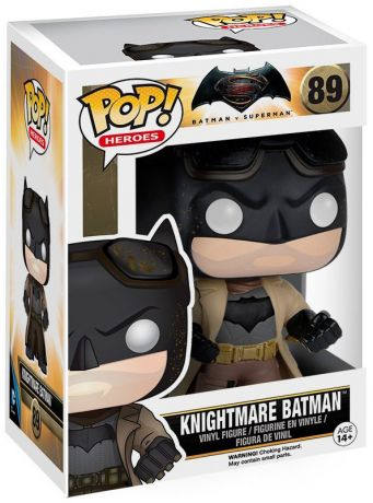 Figurine Funko Pop Batman v Superman : L'Aube de la justice [DC] #89 Knightmare Batman