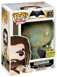 Figurine Funko Pop Batman v Superman : L'Aube de la justice [DC] #87 Aquaman - Patine