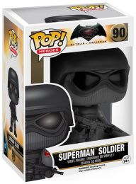 Figurine Funko Pop Batman v Superman : L'Aube de la justice [DC] #90 Superman Soldat