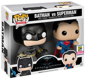 Figurine Funko Pop Batman v Superman : L'Aube de la justice [DC] #0 Batman vs Superman - 2 Pack