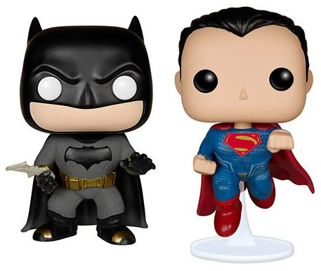 Figurine Funko Pop Batman v Superman : L'Aube de la justice [DC] #00 Batman vs Superman - 2 Pack