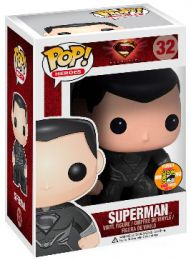 Figurine Funko Pop Man of Steel [DC] #32 Superman - Costume noir