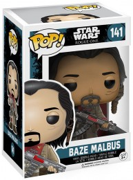 Figurine Funko Pop Rogue One : A Star Wars Story #141 Baze Malbus