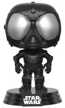 Figurine Funko Pop Rogue One : A Star Wars Story #189 Droïde de l'Étoile de la Mort - Noir