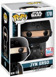 Figurine Funko Pop Rogue One : A Star Wars Story #178 Jyn Erso - Tenue impériale