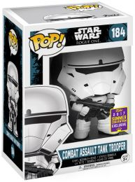 Figurine Funko Pop Rogue One : A Star Wars Story #184 Combat Assault Tank Trooper