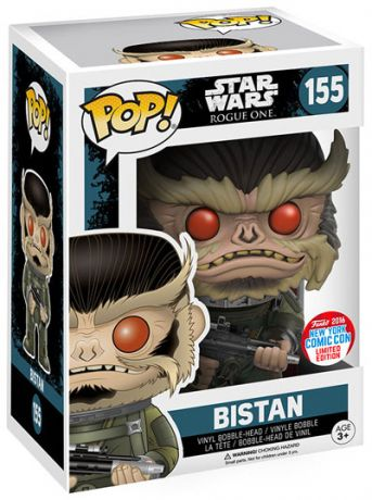 Figurine Funko Pop Rogue One : A Star Wars Story #155 Bistan