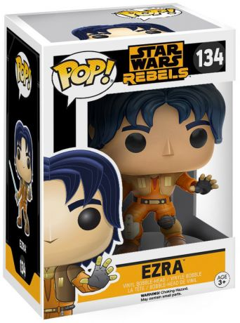 Figurine Funko Pop Star Wars Rebels #134 Ezra