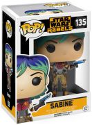 Figurine Funko Pop Star Wars Rebels #135 Sabine