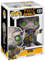 Figurine Funko Pop Star Wars Rebels #137 Zeb