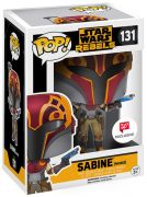 Figurine Funko Pop Star Wars Rebels #131 Sabine avec masque