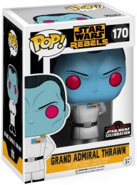 Figurine Funko Pop Star Wars Rebels #170 Grand Amiral Thrawn