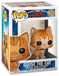 Figurine Funko Pop Captain Marvel [Marvel] #426 Goose le chat