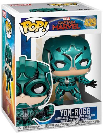 Figurine Funko Pop Captain Marvel [Marvel] #429 Yon-Rogg