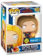 Figurine Funko Pop Captain Marvel [Marvel] #432 Captain Marvel - Brille dans le noir