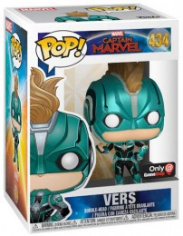 Figurine Funko Pop Captain Marvel [Marvel] #434 Vers avec casque