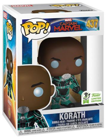 Figurine Funko Pop Captain Marvel [Marvel] #437 Korath - Tenue Starforce