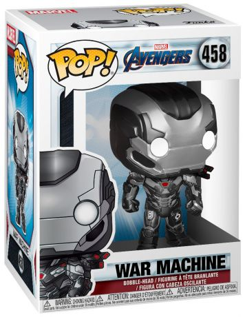 Figurine Funko Pop Avengers : Endgame [Marvel] #458 War Machine