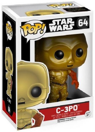 Figurine Funko Pop Star Wars 7 : Le Réveil de la Force #64 C-3PO