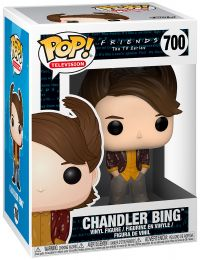 Figurine Funko Pop Friends #700 Chandler Bing - Années 80