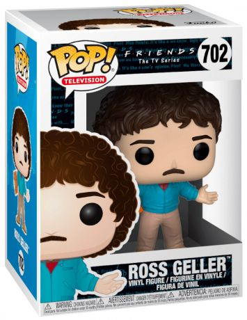 Figurine Funko Pop Friends #702 Ross Geller - Années 80