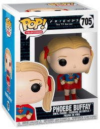 Figurine Funko Pop Friends #705 Phoebe Buffay - Supergirl