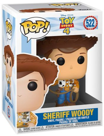 Figurine Funko Pop Toy Story 4 [Disney] #522 Shérif Woody