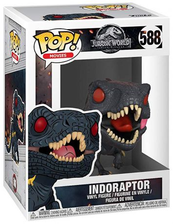 Figurine Funko Pop Jurassic World : Fallen Kingdom #588 Indoraptor