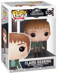 Figurine Funko Pop Jurassic World : Fallen Kingdom #590 Claire Dearing