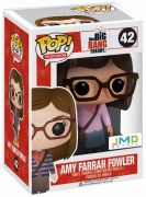 Figurine Funko Pop The Big Bang Theory #42 Amy Farrah Fowler - Tenue Rose