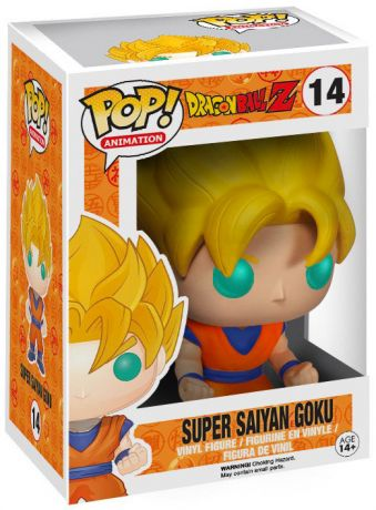 Figurine Funko Pop Dragon Ball #14 Super Saiyan Goku (DBZ)