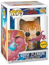 Figurine Funko Pop Captain Marvel [Marvel] #445 Goose le chat - Flerken - A moitié transformé [Chase]