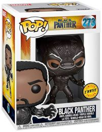 Figurine Funko Pop Black Panther [Marvel] #273 Black Panther avec masque [Chase]